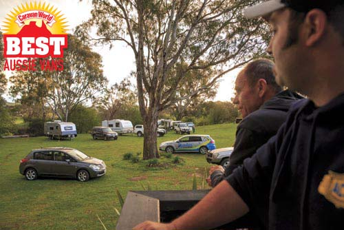 Best Aussie Vans Judges at Eildon