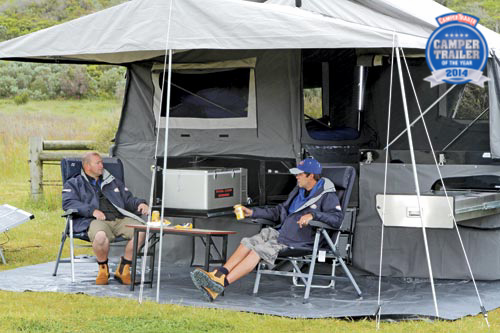 CRUSADER EXPEDITION CAMPER AWNING