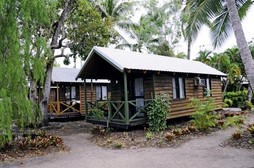 Pandanus Caravan Park cabins