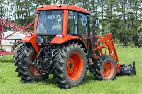 Kioti PX1002 Cabin Tractor Linkage Loader