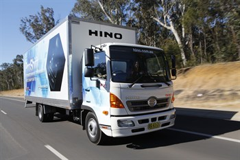 Hino 500 Series FC With Pro Shift 6 AMT