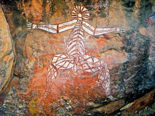 Nourlangie Rock cave art