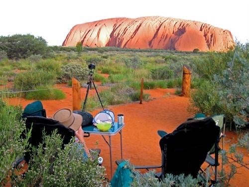 Uluru sunset location