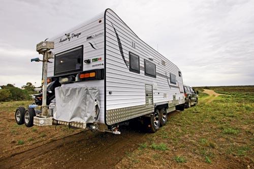 Aussie Humpback Smartvan caravan