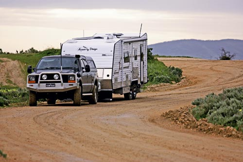 Aussie by design Smartvan towing