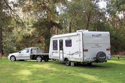 GALAXY ODYSSEY SERIES 2 TOWING