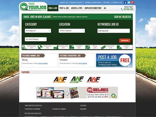 Job -page