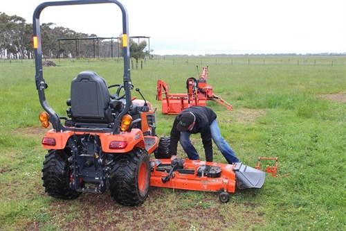 Kubota BX25D Tractor Mower