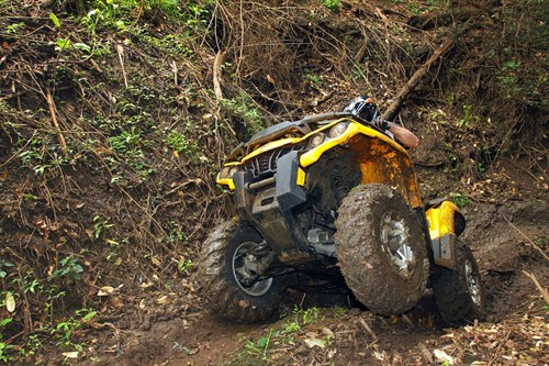 Can -Am Outlander 500 DPS Performance