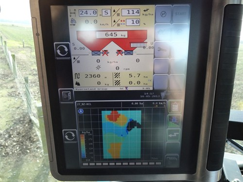 Vicon RO-EDW 3900 GEOSpread Spreader _display