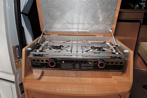 Dometic cooktop runs on metho