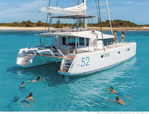 LAGOON 52 TWIN HULL