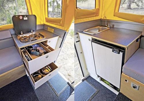 Active -Campers -Optima -kitchen