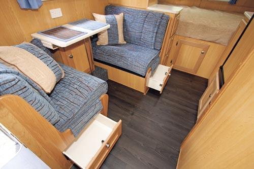 Kedron XC3 Compact Caravan Dinette