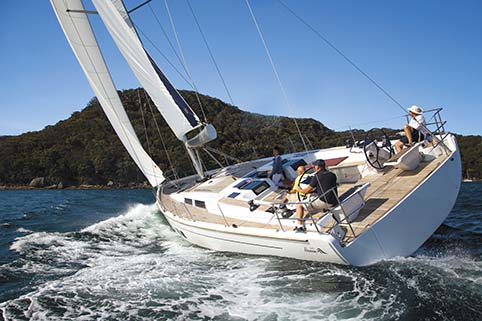 HANSE 575 ON THE WATER
