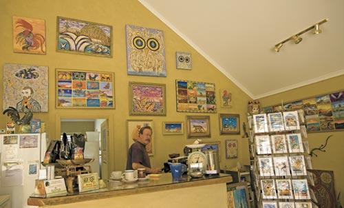 Art At Sandy Hollow Cafe