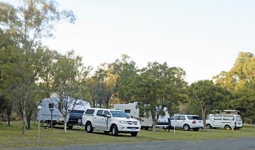 Caravans At At Sandy Hollow Tourist Park