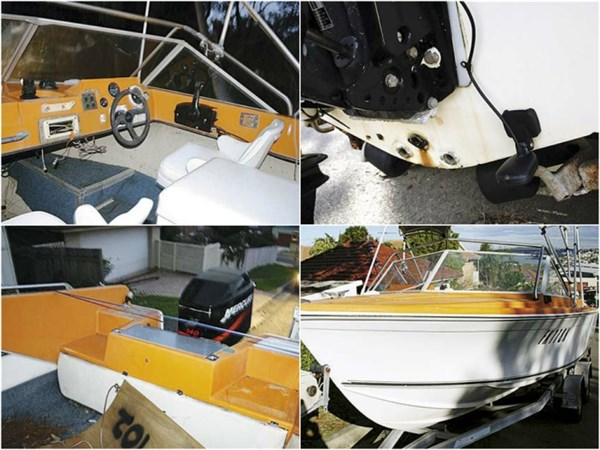 HAINES V19R PROJECT BOAT