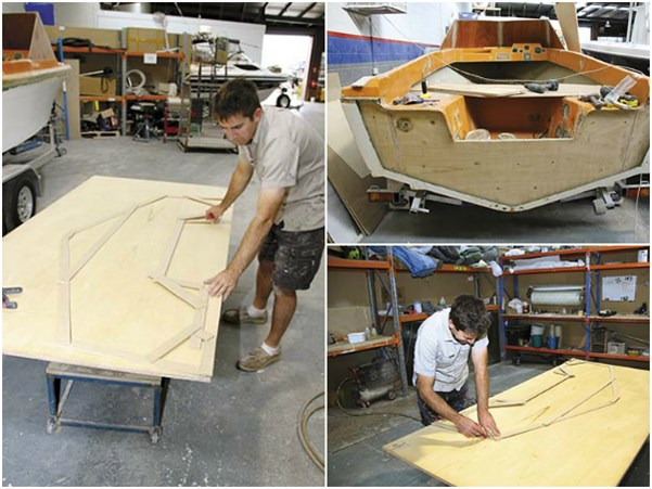 V19R PROJECT BOAT TRANSOM
