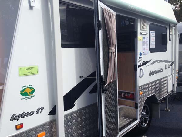 Goldstream Caravan