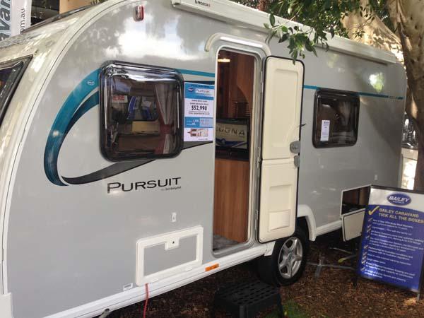 Bailey Pursuit Caravan