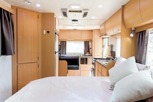 Trakmaster Tanami Caravan Bedroom
