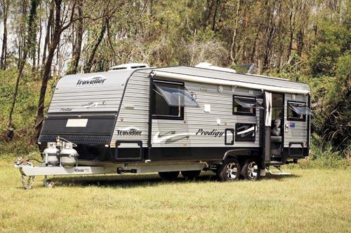 Traveller Prodigy Caravan