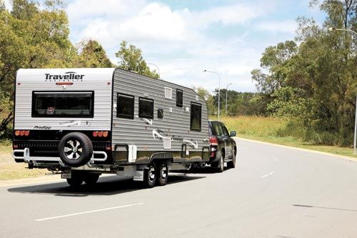 Traveller Prodigy Caravan  Towing