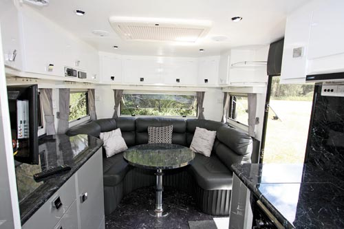 Traveller Prodigy Caravan Club Lounge