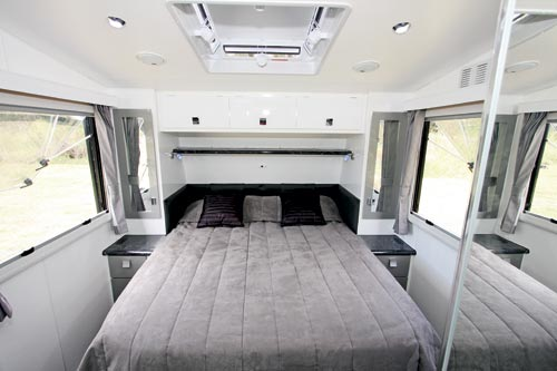 Traveller Prodigy Caravan Bedroom