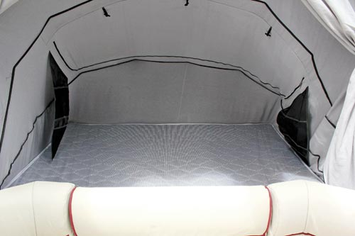 Purple Line Opus Drifter Camper Trailer Bed