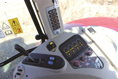 6350 Massey Ferguson 7624 Controls