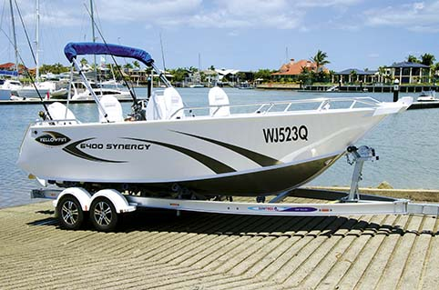 YELLOWFIN 6400 SYNERGY BOAT