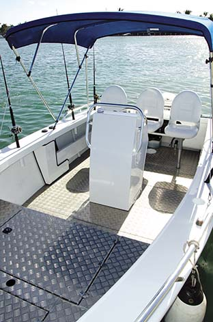 YELLOWFIN 6400 SYNERGY LAYOUT