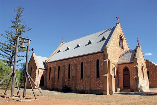 St Peters Catholic Church Greenough Historic Settlement Near Geraldton