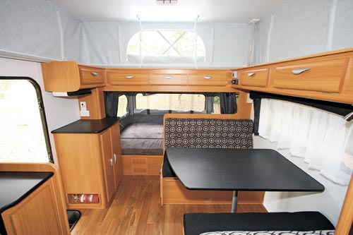 The Windsor Rapid Caravan Dinette