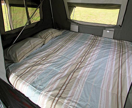 Blue Tongue Offroad Trekker Camper Trailer Bed