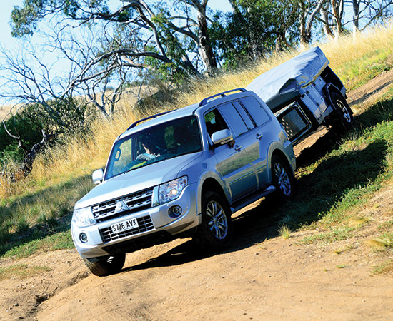 Camel Campers Bushman Expedition Towing Downhill