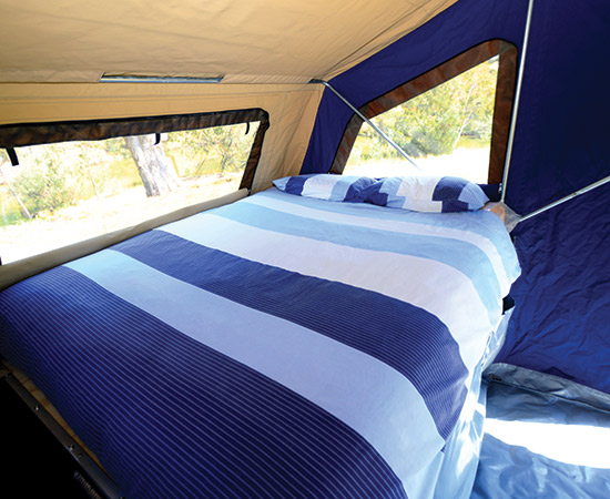 Camel Campers Bushman Expedition Bed
