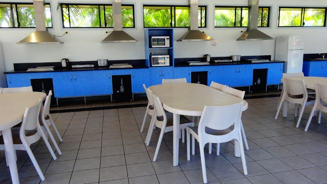 caravan park kitchen