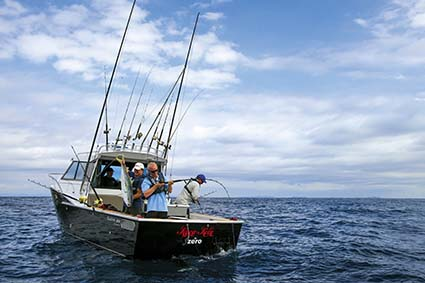 DICKEY CUSTOM FISHING BOAT