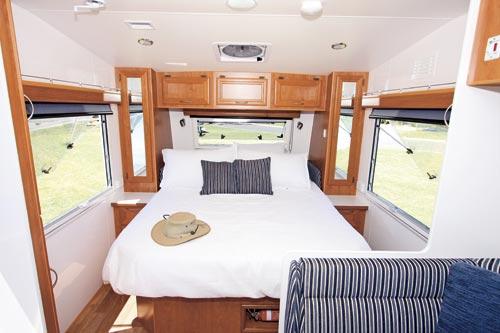 Caravan Master Bedroom