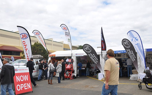 Members Of The Public At Melbourne Leisurefest