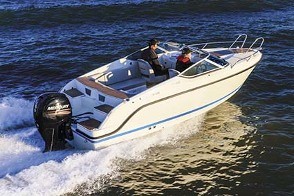 Quicksilver boat with Mercury 150