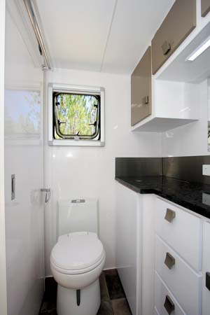 Spinifex Nomadi X Caravan Toilette En Suite Bathroom