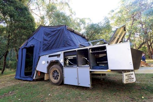 Mountain Trail EDX Camper Trailer