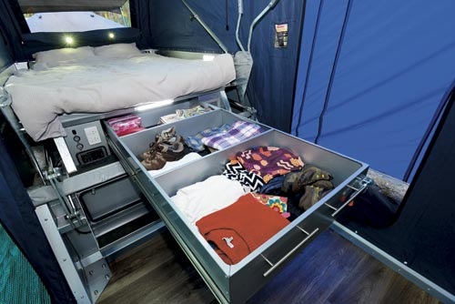 Camper Trailer Bedroom
