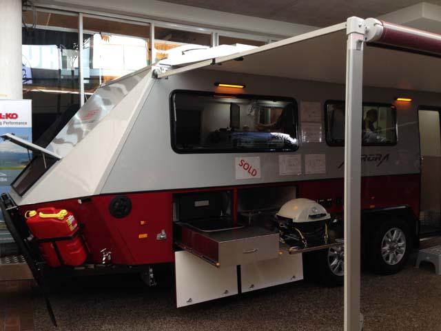 Australian Off Road Aurora Caravan