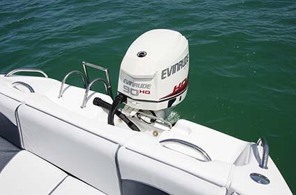 Evinrude E-TEC 90 outboard motor
