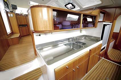 GALLEY ON SEAWIND 1200 CATAMARAN